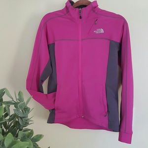 North Face women's jacket sweatshirt small